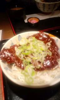 名古屋☆その3(味噌カツと帰り道)