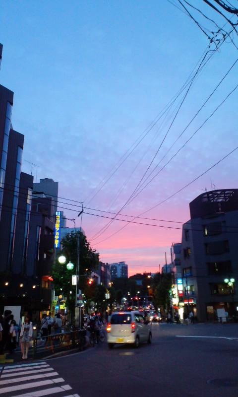青とピンクと…